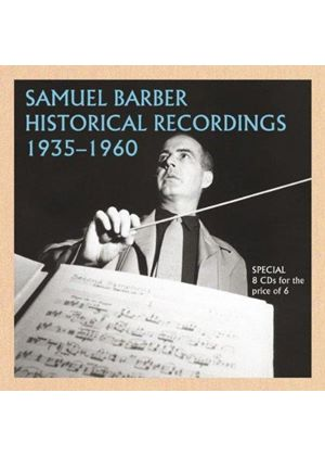 Samuel Barber Historical Recordings, 1935-1960 (Music CD)