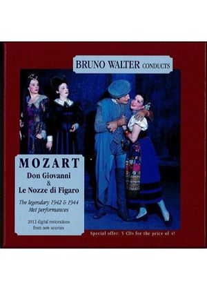 Mozart: Don Giovanni; Le Nozze di Figaro (Music CD)