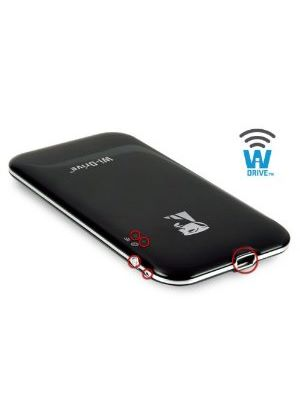 Kingston Wi-Drive External WiFi SSD - 32 GB