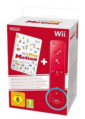 Wii Play: Motion Plus Wii Remote - Red (Wii)