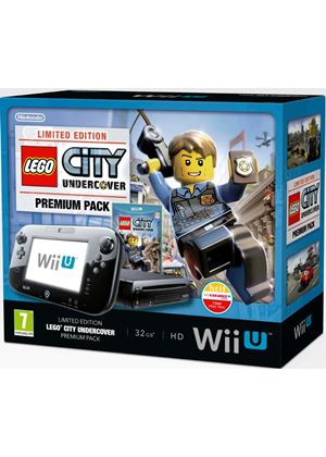 Black Wii U Premium with LEGO City: Undercover