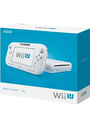 Nintendo Wii U 8GB Basic Pack - White (Wii U)