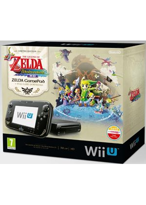 Black Wii U Premium with The Legend of Zelda: The Wind Waker
