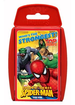 Top Trumps Spiderman Card Game
