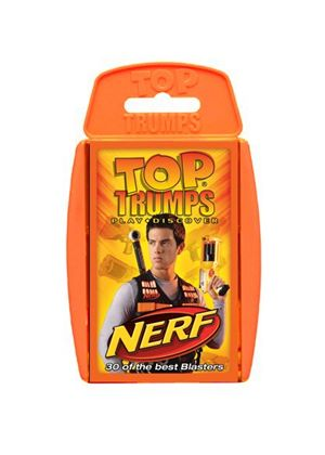 Top Trumps Nerf Card Game