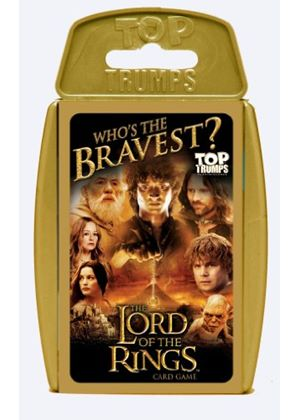 Top Trumps Lord of the Rings Card Game