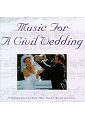Various Composers - Music For A Civil Wedding (Music CD)
