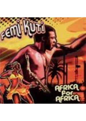 Femi Kuti - Africa For Africa (Music CD)