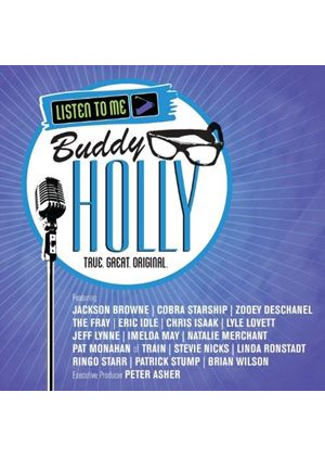 Various Artists - Listen to Me (Buddy Holly/+DVD)