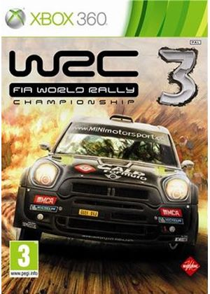 WRC: FIA World Rally Championship 3 (Xbox 360)
