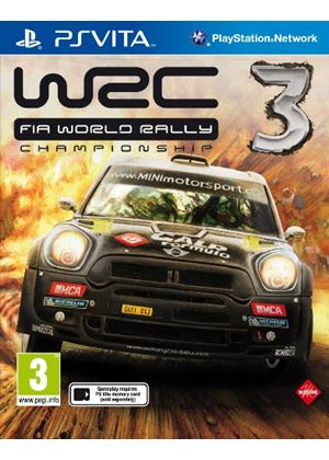 WRC: FIA World Rally Championship 3 (PlayStation Vita)