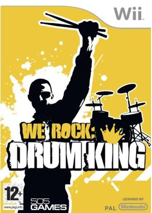 We Rock - Drum King (Wii)