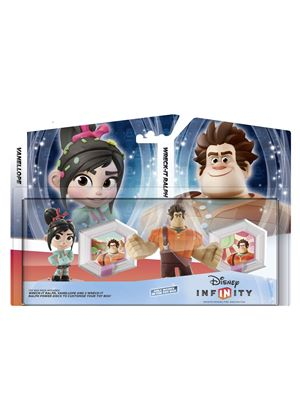 Disney Infinity Toy Box Set  Wreck It Ralph & Venelope