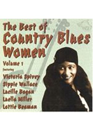 Various Artists - The Best Of Country Blues Women Vol. 1 (Music CD)