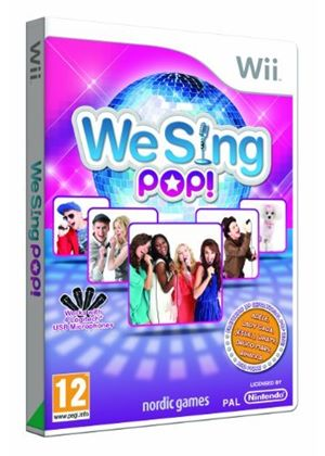 We Sing Pop - Game Only (Wii)