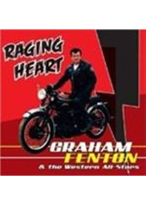 Graham Fenton - Raging Heart (Music CD)