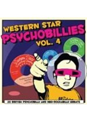Various Artists - Western Star Psychobillies Vol.4 (Music CD)