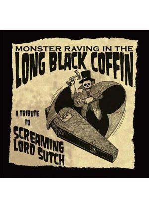 Various Artists - Monster Raving in the Long Black Coffin (A Tribute to Screaming Lord Sutch) (Music CD)