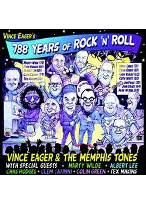 Vince Eager - 788 Years of Rock 'n' Roll (Music CD)