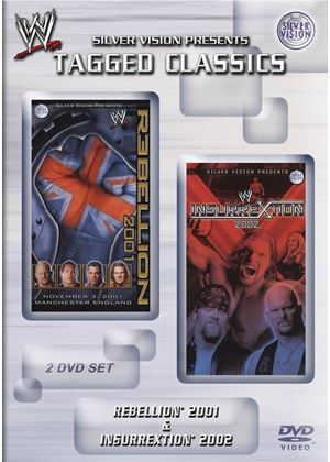 WWE - Rebellion 2001 / Insurrection 2002 (Double Pack)