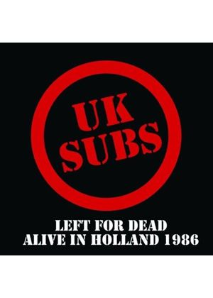 U.K. Subs - Left for Dead (Music CD)