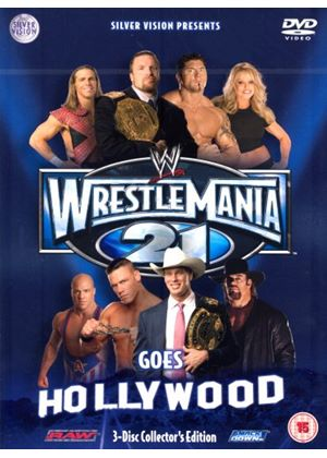 WWE - Wrestlemania XXI (Three Discs)