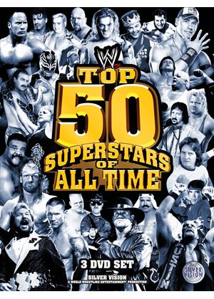 WWE - 50 Top Superstars (3 Disc Digi-pack)