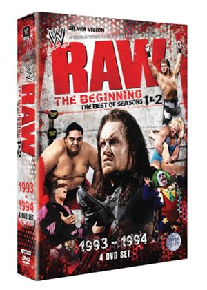 WWE: Raw:The Beginning Seasons 1 And 2