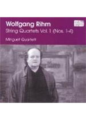 Rihm: String Quartets Vol 1
