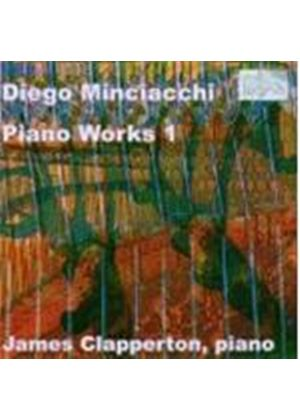 Diego Minciacchi - Piano Works 1 (Clapperton) [German Import]