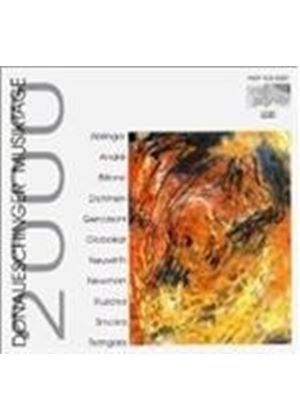 VARIOUS COMPOSERS - Donaueschinger Musiktage 2000 [German Import]