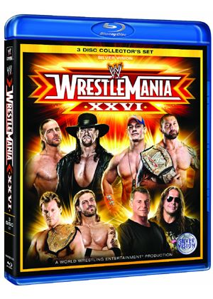 WWE - Wrestlemania 26 - 3 Disc (Blu-Ray)