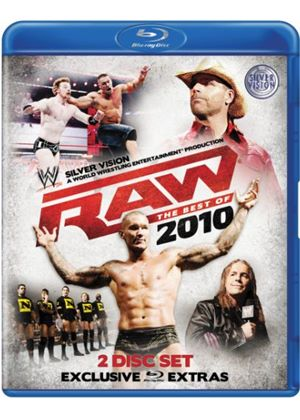 WWE Raw: The Best Of 2010 (2 Disc Blu-ray)