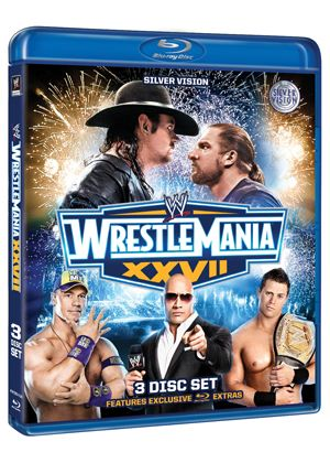 WWE: Wrestlemania 27 (Blu-ray)
