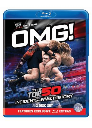 WWE - OMG! - The Top 50 Incidents In WWE History (Blu-ray)