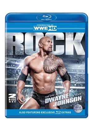 "WWE - The Epic Journey Of Dwayne ""The Rock"" Johnson (Blu-ray)"