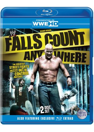 Falls Count Anywhere - Greatest Street Fights And Other Out Of Control Matches (Blu-Ray)