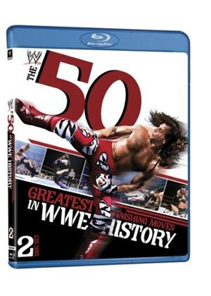50 Greatest Finishing Moves In Wwe History (Blu-Ray)
