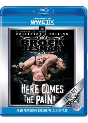 WWE - Brock Lesnar: Here Comes The Pain - Collectors Edition (Blu-ray)