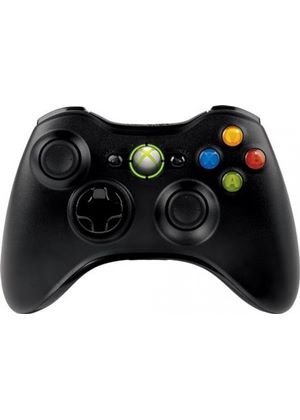 Microsoft Xbox 360 Wireless Controller for Windows - Black (PC)