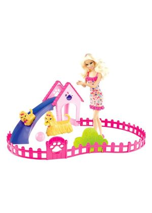 Barbie Family Puppy Play Park