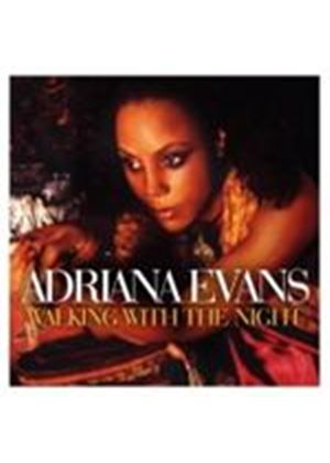 Adriana Evans - Walking With The Night (Music CD)