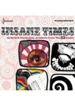 Various Artists - Insane Times: 25 British Psychedelic Artefacts from the EMI Vaults (Music CD)