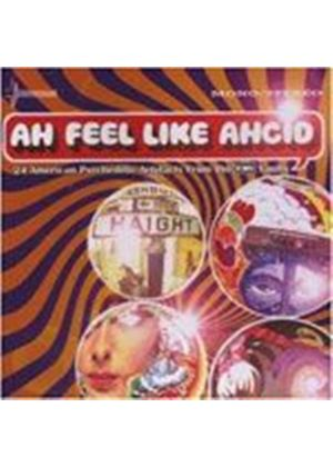 Various Artists - Ah Feel Like Ahcid! - 24 American Psychedelic Artefacts (Music CD)