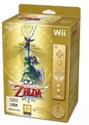 The Legend of Zelda: Skyward Sword - Limited Edition Gold Wii Remote Bundle (Wii)
