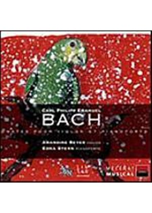 Carl Philip Emmanuel Bach - Sonates Pour Violon Et Pianoforte (Beyer, Stern) (Music CD)