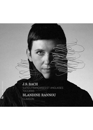Blandine Rannou, harpsichord - J.S. Bach: French Suites, English Suites & Toccatas (Music CD)