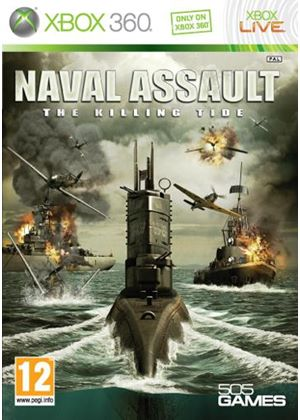Naval Assault - The Killing Tide (XBox 360)