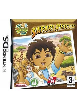 Go Diego Go! Safari Rescue (Nintendo DS)