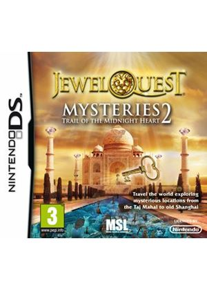 Jewel Quest Mysteries - Trail of the Midnight Heart 2 (Nintendo DS)